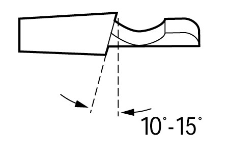 Ripping Chain Filing Angle